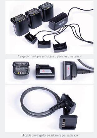 Bateries Motosierra de mano profesional inalámbrica para poda ARVIPO MT37
